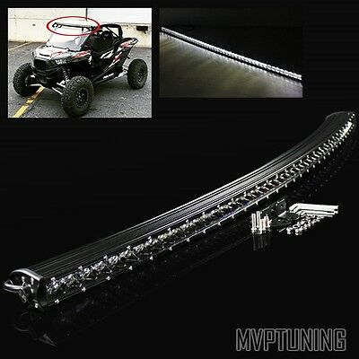 "Universal 240W CREE LED 50"" Off-road Curved Light Bar Roof/Truck/ATV/Work Lamp"