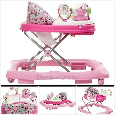 Disney Toddler Music Walker Minnie Mouse Music Sounds Lights Learning Baby Girl