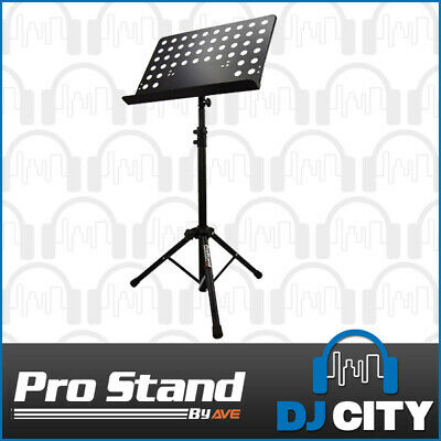 MS050 Prostand Heavy Duty Professional Sheet Music Stand Adjustable Height Bl...