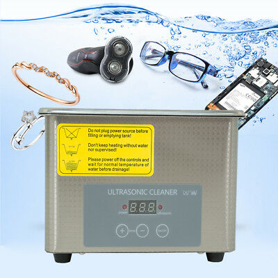 5L Stainless Steel  Liter Ultrasonic Cleaner Heater Industry Heated W/ Timer USA