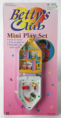 VERY RARE VINTAGE 90/'S BETTYS CLUB PET DOT PLAYSET POLLY POCKET NEW MOSC !