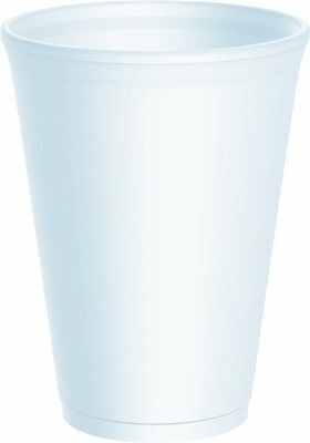 12oz Polystyrene Cups Takeaway/Cafe **choose qty with or without lids**