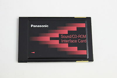Panasonic Pc Card Pcmcia Sound Cd-Rom Interface Card Fcc Acj5Z6Pjwbld745M