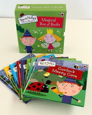 Ben And Holly's 8 Book Boxed Set Brand New Little Kingdom  Magical Box Of Books