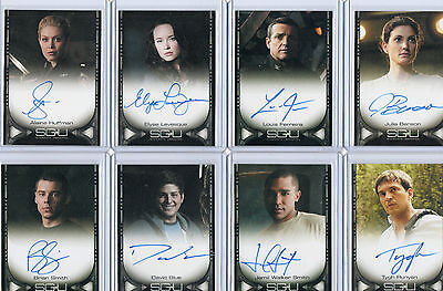 Stargate Universe Autograph & Costume Card Selection NM Rittenhouse