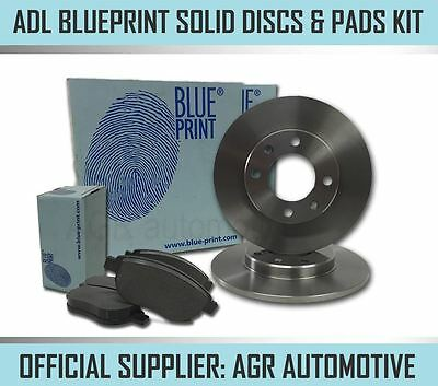 BLUEPRINT REAR DISCS AND PADS 251mm FOR FIAT STILO 1.2 2001-04