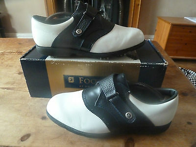 womens FOOTJOY aqualites - size uk 7 inc box great condition !