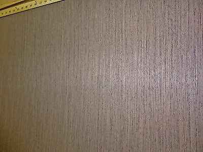 "Wenge African composite wood veneer 48"" x 24"" with paper backer 1/40th"" thick"