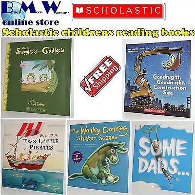 Scholastic books, wonky donkey gumnut babies two little pirates some dads ++