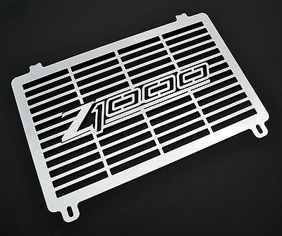 Kawasaki Z1000 (03 - 06) Stainless Steel Radiator Cover Guard Grill