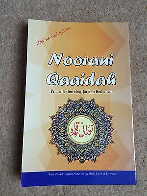 Noorani Qaida Plastic Covered Pages Children New Revised Edition BEST QUALITY