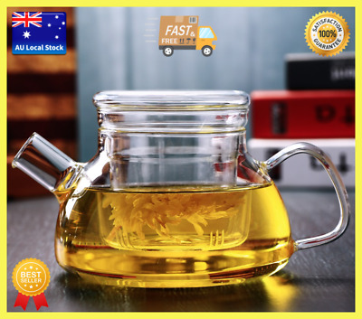 Glass Teapot With Infuser Tea Maker Designer Teapot Euro Style Teapot 700ml