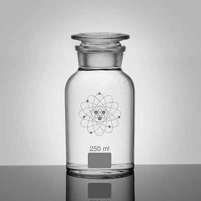 Jay Lab Apothecary Jars Clear White 250 / 500 / 1000 ml