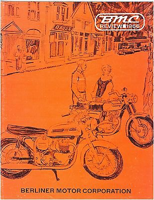 Norton Ducati Motorcycle Review 16-Page  1966-Sales, Raceing, & Information