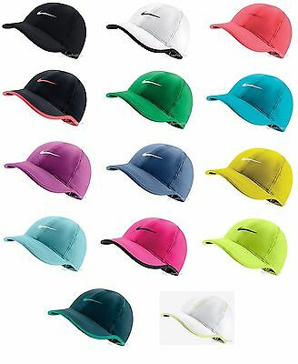 df26af1494852 New Nike Womens Feather Light Swoosh Hat Dri Fit Tennis Cap 679424 Running