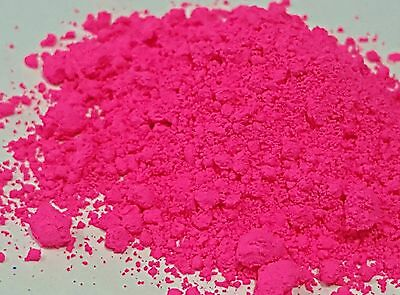 PRICE REDUCED! Fluorescent Neon Synthetic Pigment PINK 10g CLOSING DOWN!