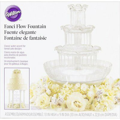 Wilton 306-1147 Fanci Flow Wedding Cake Fountain Assembly is quick and easy NEW
