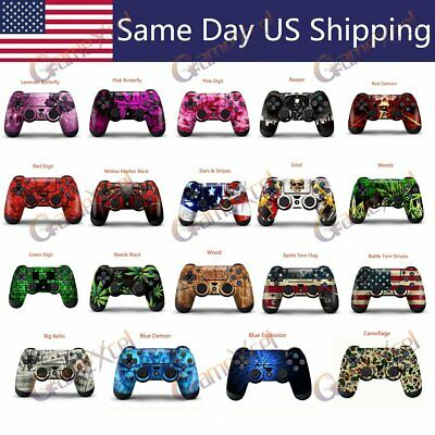 Sticker Decal Modded Custom Skin for Sony Playstation 4 PS4 Wireless Controller