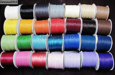 Quality Korea Wax Corduroy Cord Thread For Diy Jewelry Making Bracelet Necklace