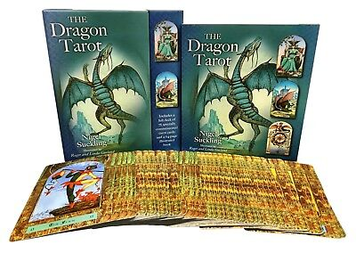 The Dragon Tarot Cards Collection Box Gift Set Mind Body Spirit Psychic NEW