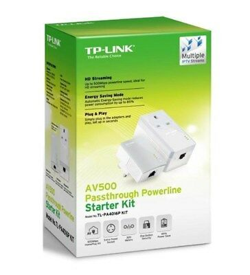 TP-Link TL-PA4016P KIT Powerline Kit with Passthrough