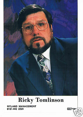 Ricky Tomlinson British actor Royle Family Mike Bassett Signed Photograph 6 x 4