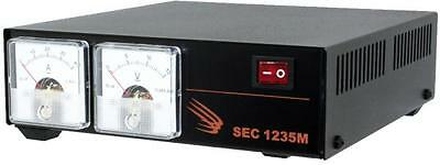 SAMLEX SEC-1235M 30A Switching Power Supply w/ Metters