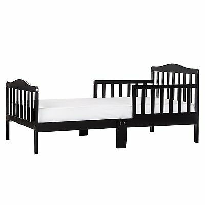 Dream On Me Classic Toddler Bed, Black by Dream On Me 624-K FREE SHIPPING NEW...