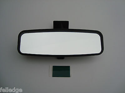 *Genuine* Ford Ka Fiesta Puma Interior Rear View Mirror Glass With Fixing Pad