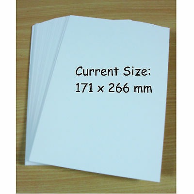 50 Current / Modern Age Size Comic Book Backing Boards - 50Pk - Collectors Grade