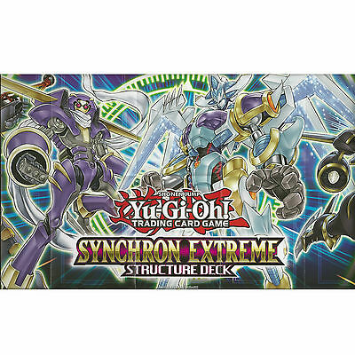 Yu-Gi-Oh Cards: Paper Playmat /game Mat From The Synchron Extreme Structure Deck