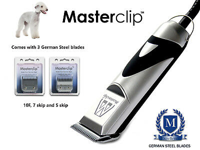 Bedlington Terrier Dog Clippers Trimmer Set & Blades by Masterclip Professional