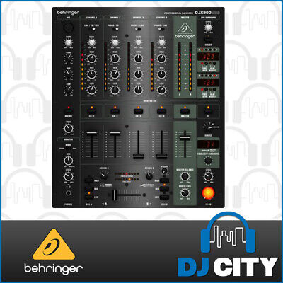 Djx900Usb Behringer 4 Channel Mixer With Fx