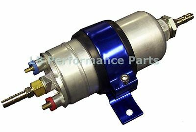 044 External 300 LPH Fuel Pump complete with Mounting Bracket / Cradle
