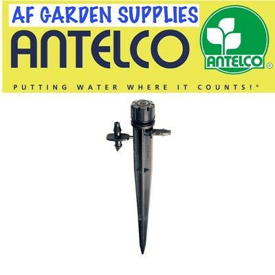 Micro Garden Irrigation Adjustable Dripper/Sprinkler on Stake 0-40 LPH Antelco