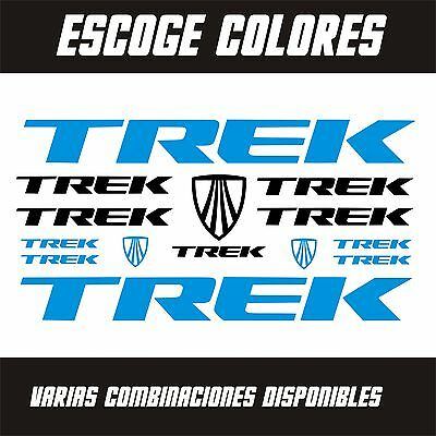 Pegatinas - Stickers - Vinilo - Lamina - Pack- Bicicleta - Bike Kit - Trek -Bici