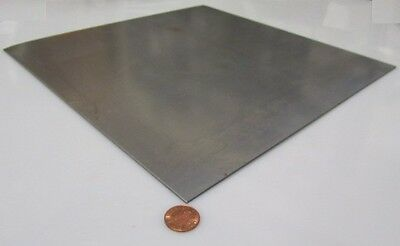 """4130 Steel Sheet, .071"""" Thick x 24.0"""" Wide x 24"""" Length, Cold Rolled"""