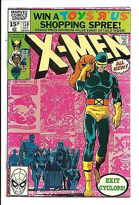 Uncanny X-Men # 138 (John Byrne, Exit Cyclops, Oct 1980), Vf/nm