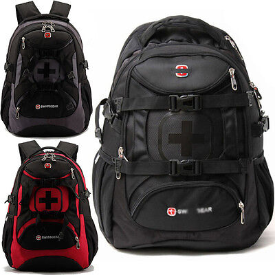 SWISSGEAR 35L Sports Backpack Satchel Schoolbag Rucksack Daypack Travel Bag Pack