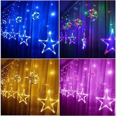 Indoor/Outdoor LED Star String Lights Christmas Xmas Decoration Wedding party CE