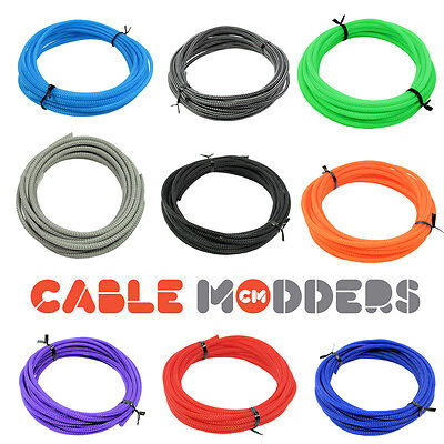Cable Modders U-HD Expandable Braid Sleeving - 10 Colours - All Sizes