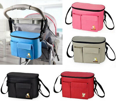 Stroller Buggy Baby Nappy Changing Diaper Bag Mummy Shoulder Bag Multifunction