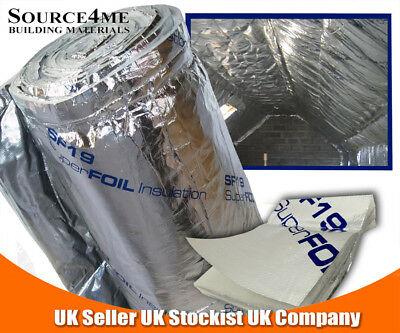 Superfoil SF19 Multi-Foil Insulation  FREE DELIVERY+ FREE TAPE 18.75m2