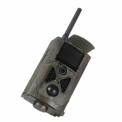 HC500M HD GSM MMS GPRS SMS Control Scouting Infrared Trail Hunting Camera #I
