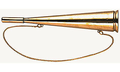 Signal horn alarm horn made of brass for camping boat and sailing - 360mm