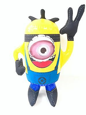 Kids Children Inflatable Minion Despicable Me Party Fun Blow Up Toy ONE EYE