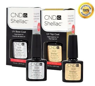 CND Shellac Top Coat, Base coat and Duo .25oz - Choose Brand New BEST DEAL