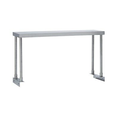 Commercial Kitchen Stainless Steel Single Overshelf for Work Tables 18X72
