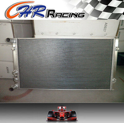FIT ALUMINUM ALLOY RADIATOR FOR VW Golf MT Turbo MK4 Dual Pass 1999-2002 NEW
