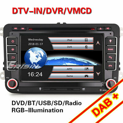 autoradio 2din lcd 7 gps dvd cd for golf 5 6 passat skoda jetta seat tiguan eos eur 216 55. Black Bedroom Furniture Sets. Home Design Ideas
